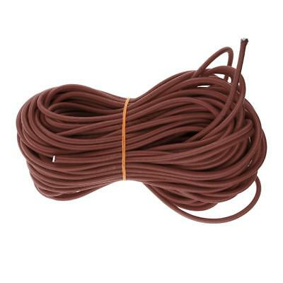 Lovoski 5mm x 20m Elastic Bungee Rope Shock Cord Tie Down for Trailer Covers