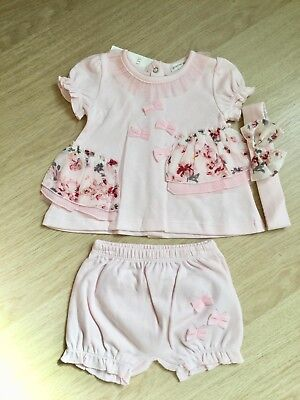 Baby Girls Spanish Style Floral 3 Piece Set By Mintini New For SS'18