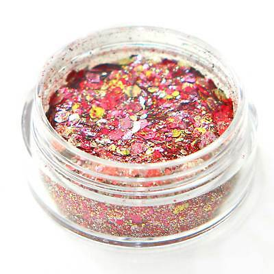 BUY 3 GET 3 FREE Biodegradable Cosmetic Glitter Bio Festival Chunky Unicorn Kc