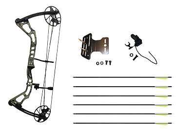 ASD Mirage Compound Bow High Powered & Fully Adjustable * Camo * Special Deal *
