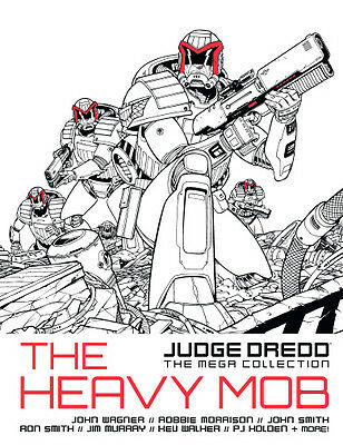 The Heavy Mob - Judge Dredd Mega Collection issue 7 Graphic Novel