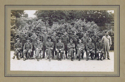 British Army Soldiers - Vintage Photograph c1930s by Tunn of Aldershot