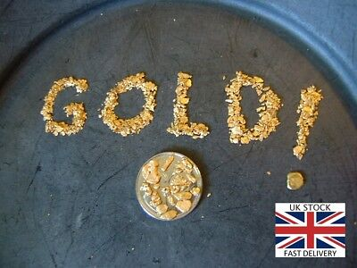 GOLD PAYDIRT 3 lbs* or 1360gr Of Rich Northern Pennine PayDirt GOLD even GEM'S
