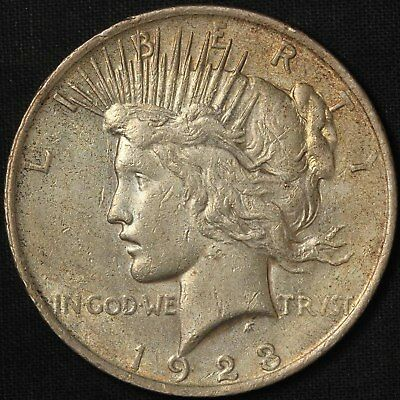 1923-P Silver Peace Dollar - Free Shipping USA