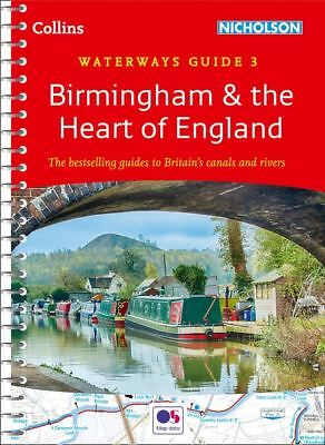 Birmingham & the Heart of England - No. 3 ( Waterways Guides) by Collins Maps
