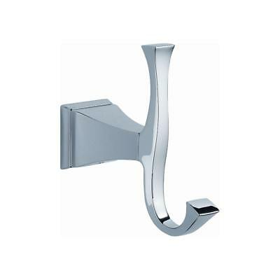 Delta Dryden Double Towel Hook in Chrome