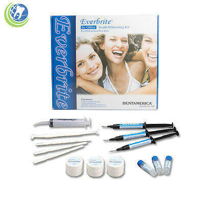 Everbrite Tooth Whitening Bleaching System 35% 3 Syringe Pack In-Office Kit