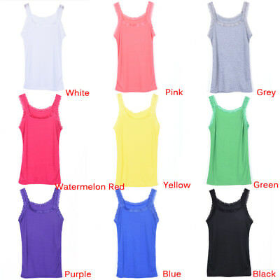Fashion Women Summer Sexy Lace Vest Sleeveless Casual Tank Blouse Tops T-Shirt P