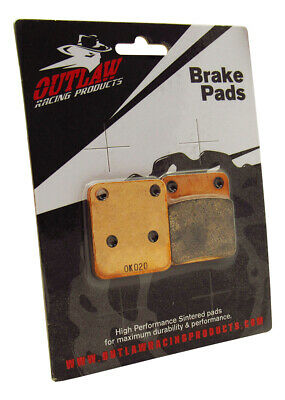 Outlaw Racing OR54 Front Sintered Brake Pads ATV KAWASAKI POLARIS SUZUKI YAMAHA