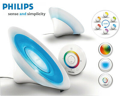 Philips 7099860PH Living Colors Aura Blancheur LED Lampe de table lumière 8Watt
