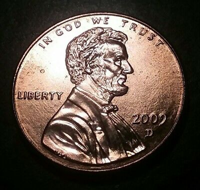 U.S. 2009 D Lincoln Rail  Bicentennial Penny Uncirculated One Cent Coin