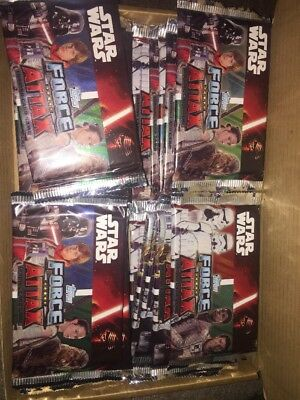 Topps Star Wars Force Attax 24 Sealed Packets