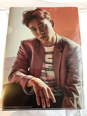 EXO SM Japan Official Goods - PREORDER - COUNTDOWN Clear File Folder - CHEN