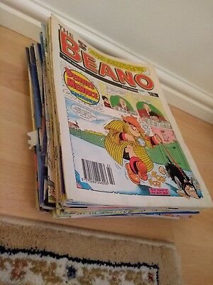 Job Lot 2 of 45 Beano Comic Books Early 1990s to Early 2000s