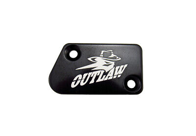 Outlaw Racing OR105BK Billet Front Brake Cap Black YAMAHA YZ125 YZ250 2008-2015