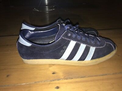 VINTAGE ADIDAS BERLIN Gr. 6 Made In Romania 70s Very Rare Worn A Few ... Luxus
