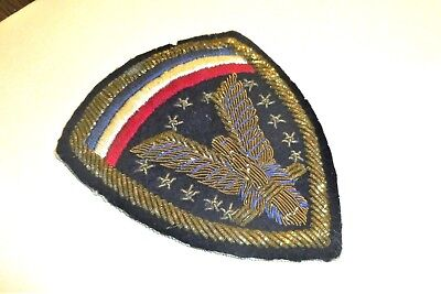 Bullion German Theater Made HQ,ETO USA Hand Embroidered Patch