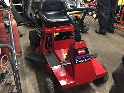 Toro Wheel Horse 12 32 Ride On Lawn Mower 5hp Quiet Plus Briggs Engine