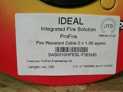 Fire Rated Cable - 100 metre reels - LPCB Approved BUY 2 GET 1 FREE
