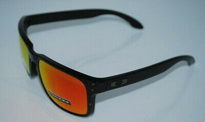 fffbf04456 Oakley Holbrook Sunglasses OO9102-F155 Polished Black Prizm Ruby Polarized  NEW