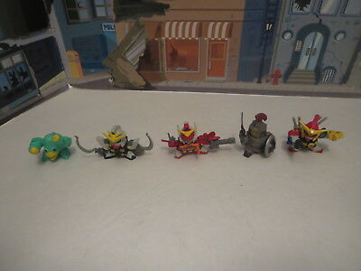 Lot Of Bandai Sd Gundam Gashapon Figures Lot 1 Power Rangers