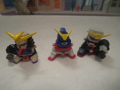 Lot Of Bandai Sd Gundam Gashapon Figures Lot 2 Power Rangers Parts Lot