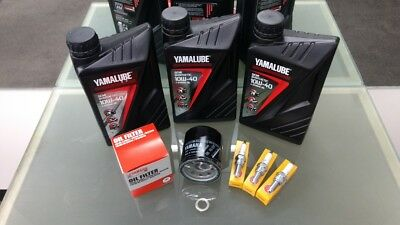 Yamaha Tracer 900 MT09TR Service Kit Filter 5GH-13440 plugs CPR9EA9 Yamalube oil