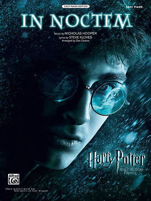 In Noctem-from Harry Potter and the Half-Blood Prince-SHEET MUSIC-EASY PIANO-NEW
