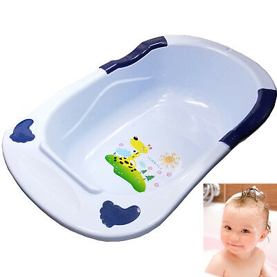 Jumbo X Large Baby Bath Tub Plastic Washing Time Big Toddler Basket Baby Bath