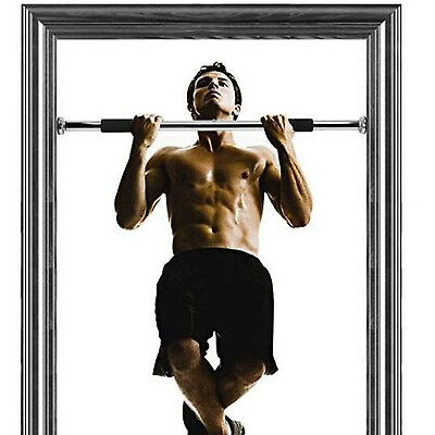 Door Home Exercise Workout Training Gym Bar Chin Up Size Adjustable Fitness Pull