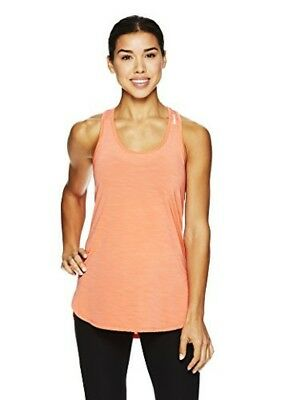 c8d2dee1533d2 REEBOK WOMENS LEGEND Performance Singlet Racerback Tank Top- Living Coral S  -  49.99