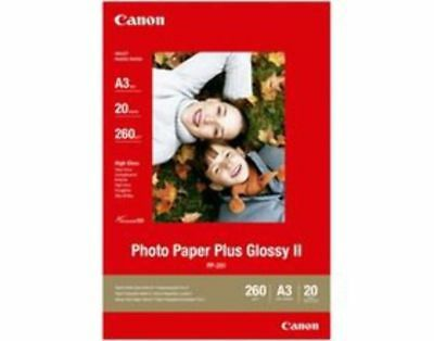 Canon PP301A3 20 sheets, 260 gsm Photo Paper Plus Glossy II