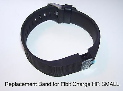 Replacement Band Strap Kit for Fitbit Charge HR Activity Tracker SMALL Black