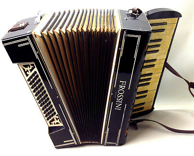 Vintage Antique FROSSINI PIANO ACCORDION Made in Germany