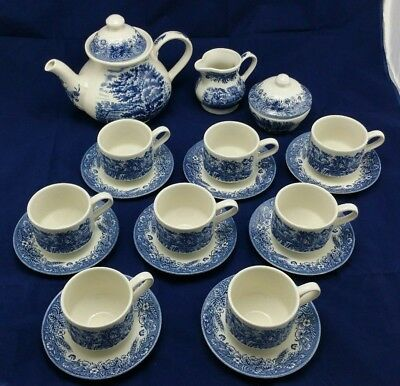 Churchill Made in England Teapot 8 cup set with Sugar and Milk Jug Cidermaking