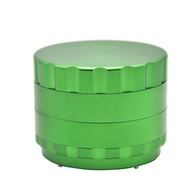1 X CNC Aluminum 2.68 Inch Dry Herb Tobacco Grinder with Cutting Blade - Green