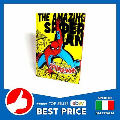 Diario The Amazing Spiderman Standard Uomo Ragno Giallo New Offerta °