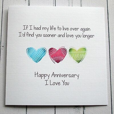 Wedding anniversary card for my husband wife wedding anniversary wedding anniversary card for my husband wife wedding anniversary card handmade m4hsunfo