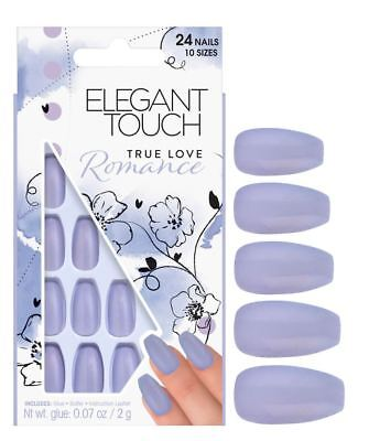 Elegant Touch False Nails - True Love Romance (24 Nails)