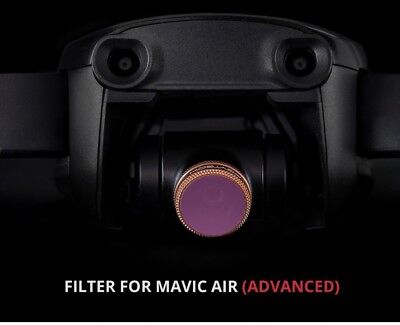 PGY TECH Mavic Air Lens Filter CPL UV ND4 ND8 16 32 64 Accessories AU Free Post