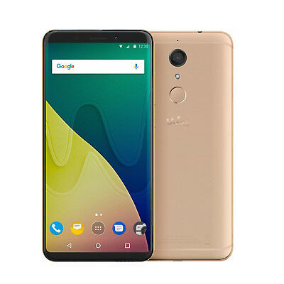 Wiko View Smartphone 5,7 Zoll, 32 GB, Dual-SIM, 13 MP gold - Neuware -