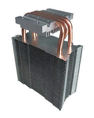 MARSWALLED Copper & Aluminum Radiator Heat Sink for 100W COB LED/PC CPU Graphics