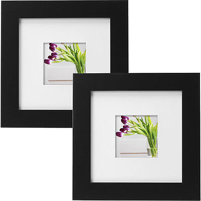 Mainstays Museum 8 X 10 Matted To 5 X 7 Picture Frame Black
