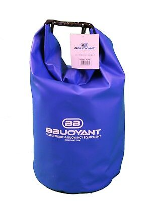 BBuoyant 20 Litre Waterproof Buoyant Dry Tube Bag - Blue, Outdoor Water Sports