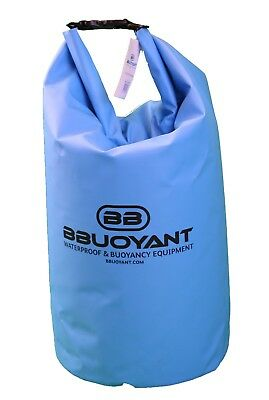 BBuoyant 40 Litre Waterproof Buoyant Dry Tube Bag - Blue, Outdoor Water Sports