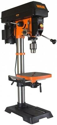 WEN 12 in. Variable Speed Bench Top Drill Press Wood Metal w/ Laser Work Light