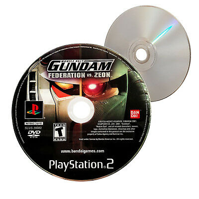 (Nearly New) Mobile Suit Gundam Federation vs. Zeon PS2 Game - XclusiveDealz