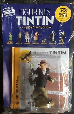 Collection Officielle Tintin Figurine Tintin N63 Gibbons la Brute