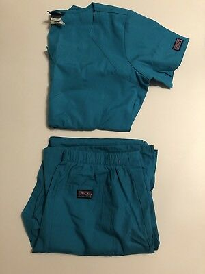 Women's Xtra Small 12 Pc Set Lot Scrubs Nursing/ Dental Uniform Cherokee EUC!