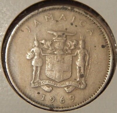 1969 Jamaica 10 Cents KM#47